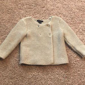 BabyGap garter cardigan sweater